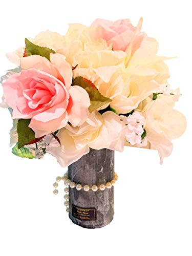 Sales Mail order results No. 1 Decorations Artificial Flowers Rose Vase Fake Silk Flower with