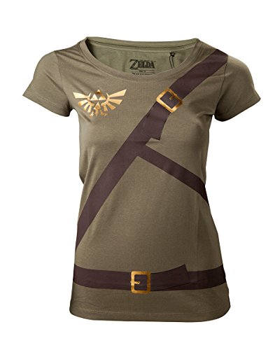 The Legend of Zelda - Link Belt Women's T-Shirt - Maat S