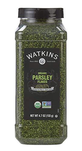 Watkins Gourmet Spice, Organic Parsley, 4.7 oz. Bottle, 1 Count (21813)