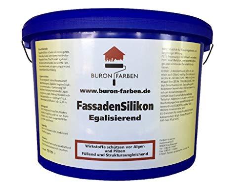 Buron FassadenSilikon 10 Liter weiss - silkonharzvergütet