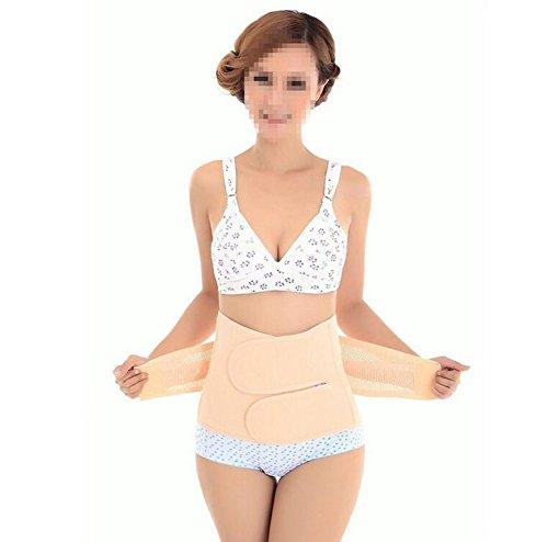 Faja abdominal adelgazante, modeladora, de sujeción postparto, elástica, transpirable y ajustable, para mujeres, especial para recuperación después del parto M ✅
