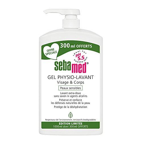 Sebamed Wasch-Gel für Gesicht und Körper, 1000 ml (davon 300 ml gratis)