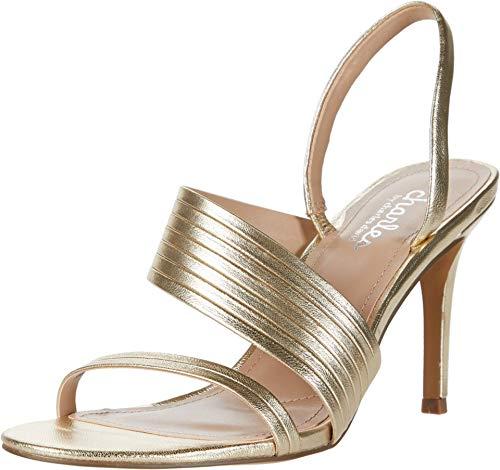 CHARLES BY CHARLES DAVID womens Dress Sandal Pump, Light Gold, 7 US