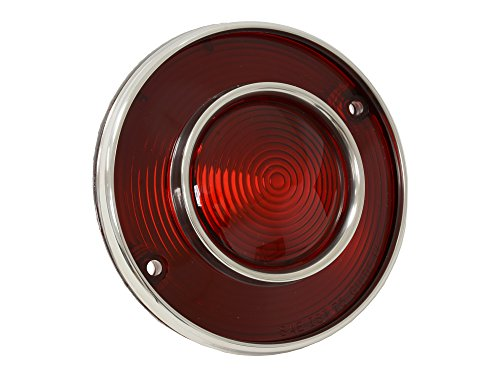 1975-1979 Corvette Tail Light Assembly All Red