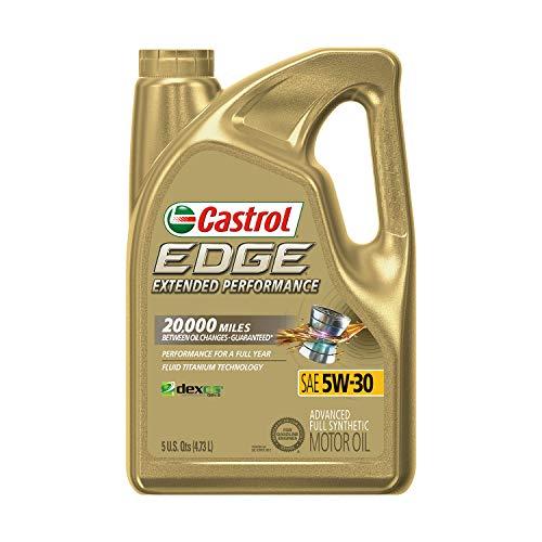 Castrol 03087 EDGE Extended Performance 5W-30 Advanced Full Synthetic Motor Oil