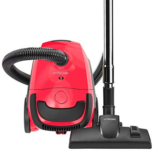 VYTRONIX RBC02 Bagged Cylinder Vacuum Cleaner Compact Powerful Tu