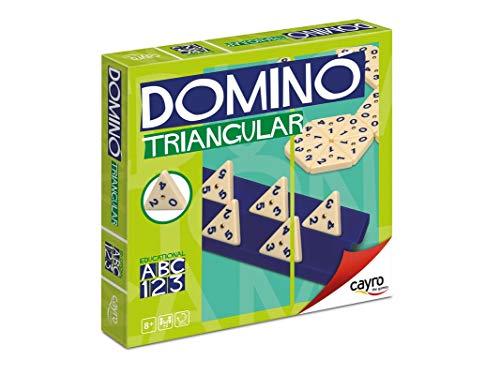 Cayro - Dominó Triangular - Juego Tradicional - Juego de Mesa - Desarrollo de Habilidades cognitivas e inteligencias múltiples - Juego de Mesa (710)