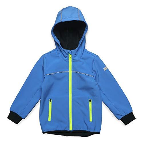 ESPRIT KIDS Jungen Outdoor Jacket Jacke, Blau (Azur Blue 443), (Herstellergröße: 104+)
