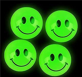 Rhode Island Novelty Glow in The Dark Smile Face Balls 144 pcs