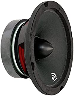 Massive Audio M6 6.5 Inch, 300 Watts, 8 Ohm Pro Audio Midrange Speaker for Cars, Stage and DJ Applications. Sold Individually.