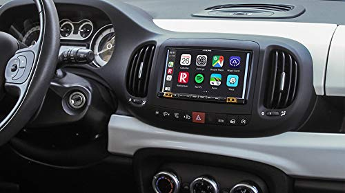 Alpine iLX-702-500L dedicato Fiat 500L Fino al 2018 Android Auto Apple CarPlay