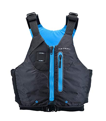 Astral Norge Life Jacket PFD for Whitewater, Touring Kayaking and Canoeing, Black, S/M