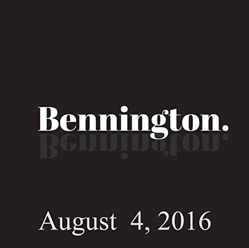 Bennington, Kerry Coddett, August 4, 2016 audiobook cover art