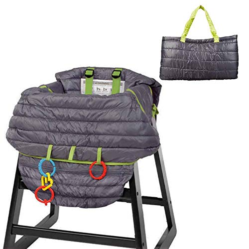 Sale!! Samber 2 in 1 Shopping Cart CoverBaby High Chair Cover Multifunctional Portable Chair Prote...