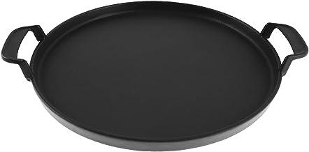 """GriHero Weber 7421 Plaque de cuisson ronde en fonte pour barbecue Weber 57 cm (22 1/2""""), plaque de cuisson Gourmet, barbec..."""