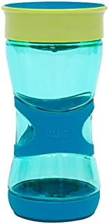 NUK Magic 360 Sippy Cup, Blue, 13oz 1pk