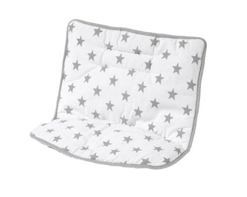 Schardt Coussin de Chaise Haute Domino Big Stars Grey