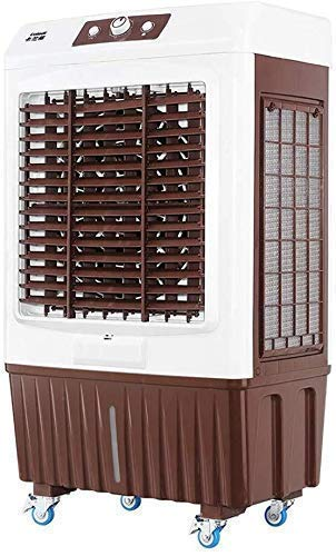 Enfriador de Aire evaporativo, portátil Aire Acondicionado Ventilador, Tranquilo y Ahorro de energía 150W Conveniente for Industrial/Comercial Huangwei7210