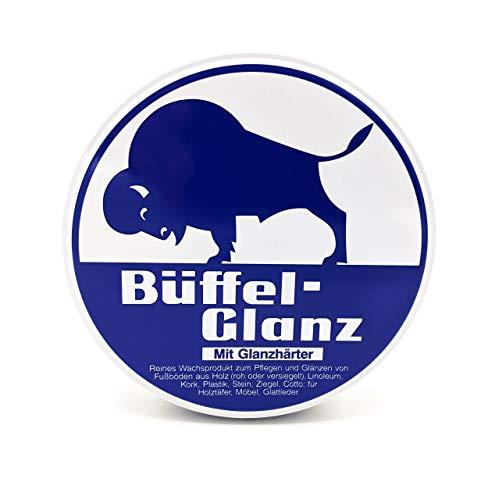 Büffel   Büffel-Glanz farblos 250ml   Farbloses Bohnerwachs   Reinigung und Pflege von Holz, Holzböden und Möbeln   Strapazierfähig   Wasserabweisend