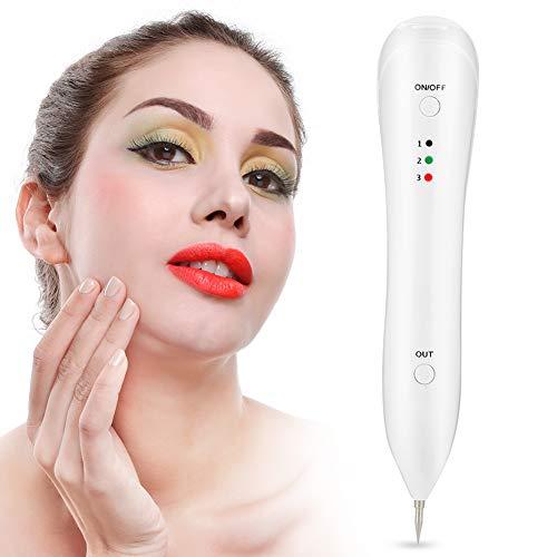 Bolígrafo eléctrico para eliminar pecas, elimina manchas negras, herramienta de belleza profesional, cable USB recargable.