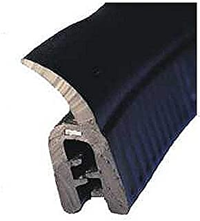 /Black/ Eutras Draught Excluder KSD2101/Rubber Door Boot Seal/ /Clamping Range 1.5/ /5/m /3.5/mm/
