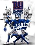 """New York Giants 2022 Calendar: American Football Calendar 2022, SPORT Calendar 2022-2023 – 18 months – BIG SIZE 17""""x11"""". Planner for all fans kids boys"""