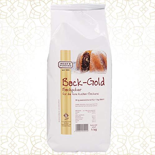 Backpulver - 1 Kg - Profiqualität - für Kuchen usw.