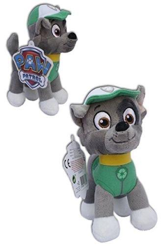 Paw Patrol Peluche Rocky 28cm regalo per bambini ragazze ragazzi giocattolo