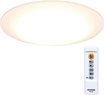 アイリスオーヤマ LEDシーリングライト 調光&調色タイプ ~6畳 (日本照明工業会基準) 3300lm 常夜灯 省エネ おやすみタイマー 取付簡単 CL6DL-5.0