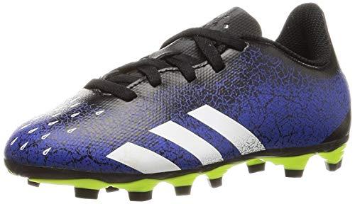 adidas Predator Freak .4 FxG J, Zapatillas de fútbol, AZUREA/FTWBLA/NEGBÁS, 28 EU