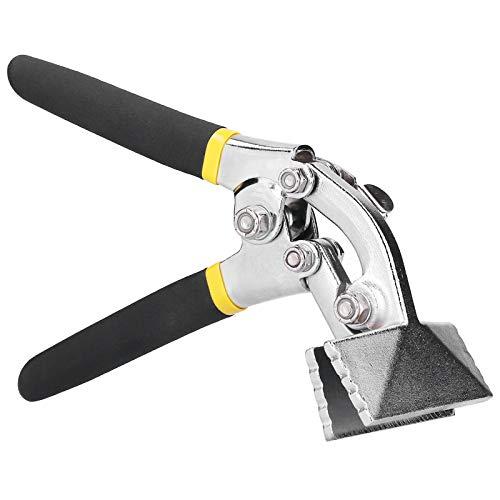 8-Zoll-Blechwerkzeuge, langlebiger Klapp-Chrom-Vanadium-Stahl Praktischer versetzter Griff-Handsessel zum Biegen von Metallklemmen