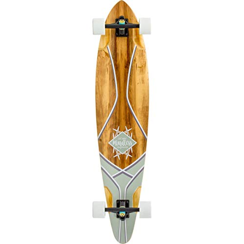 Mindless Longboards Core Pintail Adultos Unisex, Rojo (Red Gum), 9.75""