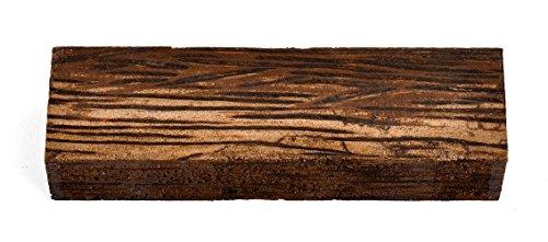 Texas Knifemakers Supply Black Palm Wood Knife Handle Block (Each...