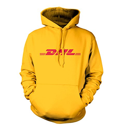 Revolver Tees DHL Unisex Hoodie (Yellow, XL)