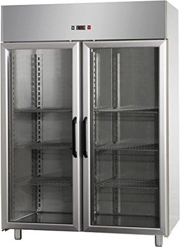 GAM Gastro Tiefkühlschrank Glastür 1200 Liter 142x70x210 cm***NEU***