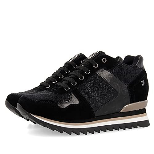 Gioseppo MERTZIG, Zapatillas Mujer, Negro, 41 EU