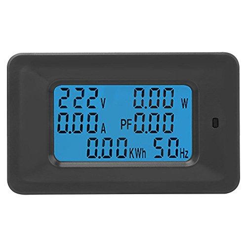 Misuratore di Tensione Digitale, Rilevatore di Tensione, 110-250V 20A digitale LCD corrente tensione potenza attiva energia rilevazione Tester tester multifunzionale amperometro voltmetro