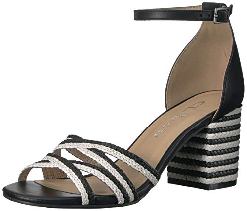 CL by Chinese Laundry Women's JUMPOFF Heeled Sandal White/Black 8 M US