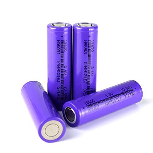 3.7V 3000mAh / 10.8 WH Power Batería Recargable de Iones de Litio 3C-5C Descarga de Alta Potencia Adecuada para Scooters Eléctricos, Autos de Juguete y Otros Equipos Eléctricos, 4 Piezas por Caja