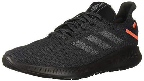 adidas Sensebounce + Street Zapatillas de running para hombre, Gris (Gris/Gris/Naranja activo.), 44 EU