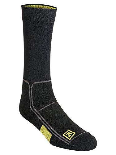 First Tactical Performance Chaussettes 15,2 cm, Noir, Taille L/XL