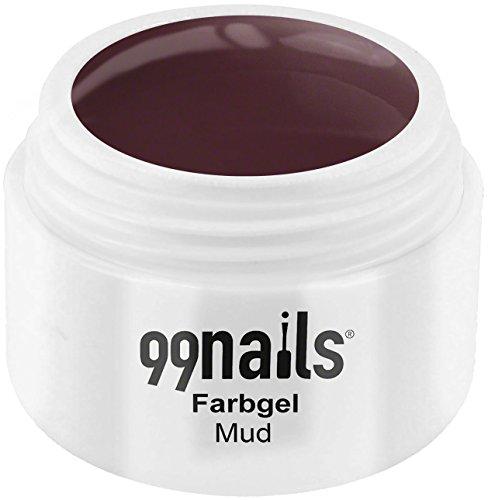 99 Nails® Farbgel – Mud, 1er Pack (1 x 5 ml)