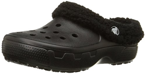 crocs Kids' Mammoth EVO Clog (Toddler/Little Kid),Black/Black,J2 M US Little Kid