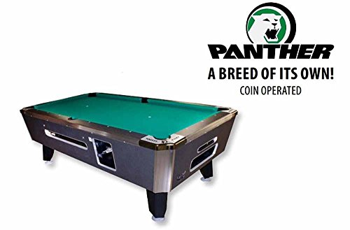 Purchase Valley Coin Op Panther Pool Table - 101- Charcoal