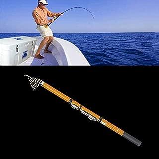 Fishing 50cm Portable Telescopic Winter Ice Fishing Rod Fishing Tackle Pole, Extension Length: 2.7m Fishing Rod