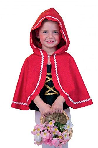 Le Petit Chaperon Rouge cape, rouge. Taille: 92/104