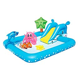 "Bestway Kinderpool mit Rutsche ""Fantastic Aquarium"""