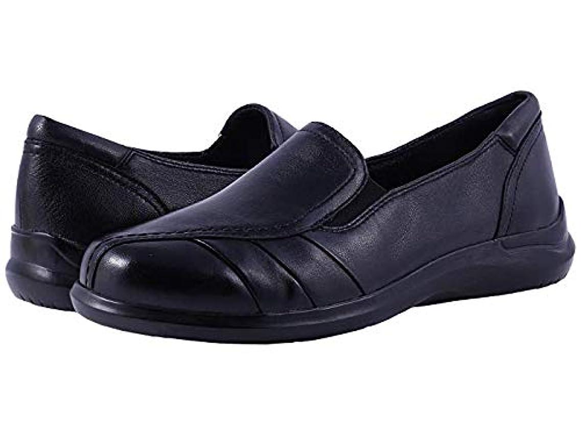 毒毒液いつでも[ARAVON(アラヴォン)] レディースローファー?靴 Faith Black (28.5cm) M (B) [並行輸入品]