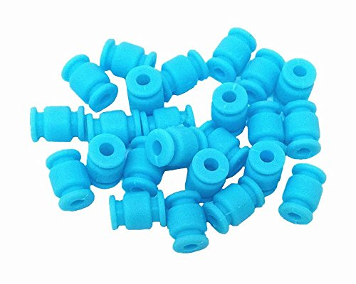 HONBAY 24pcs RC Anti Vibration Rubber Balls for Fright Controller Gimbal