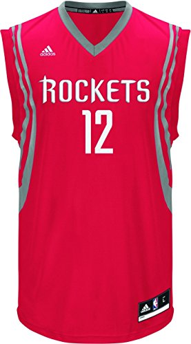 adidas Performance INT Replica JRSY 1 NBA Houston Basketball Jersey Rojo para Hombre Rockets